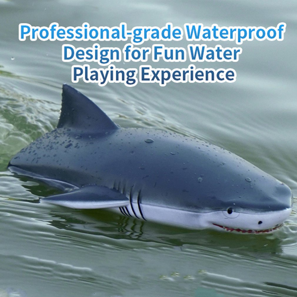 RC Shark Boat RC Crocodile Head 2.4G Electric Simulation Vehicles RTR Model Funny Children Toys long battery life speed boat