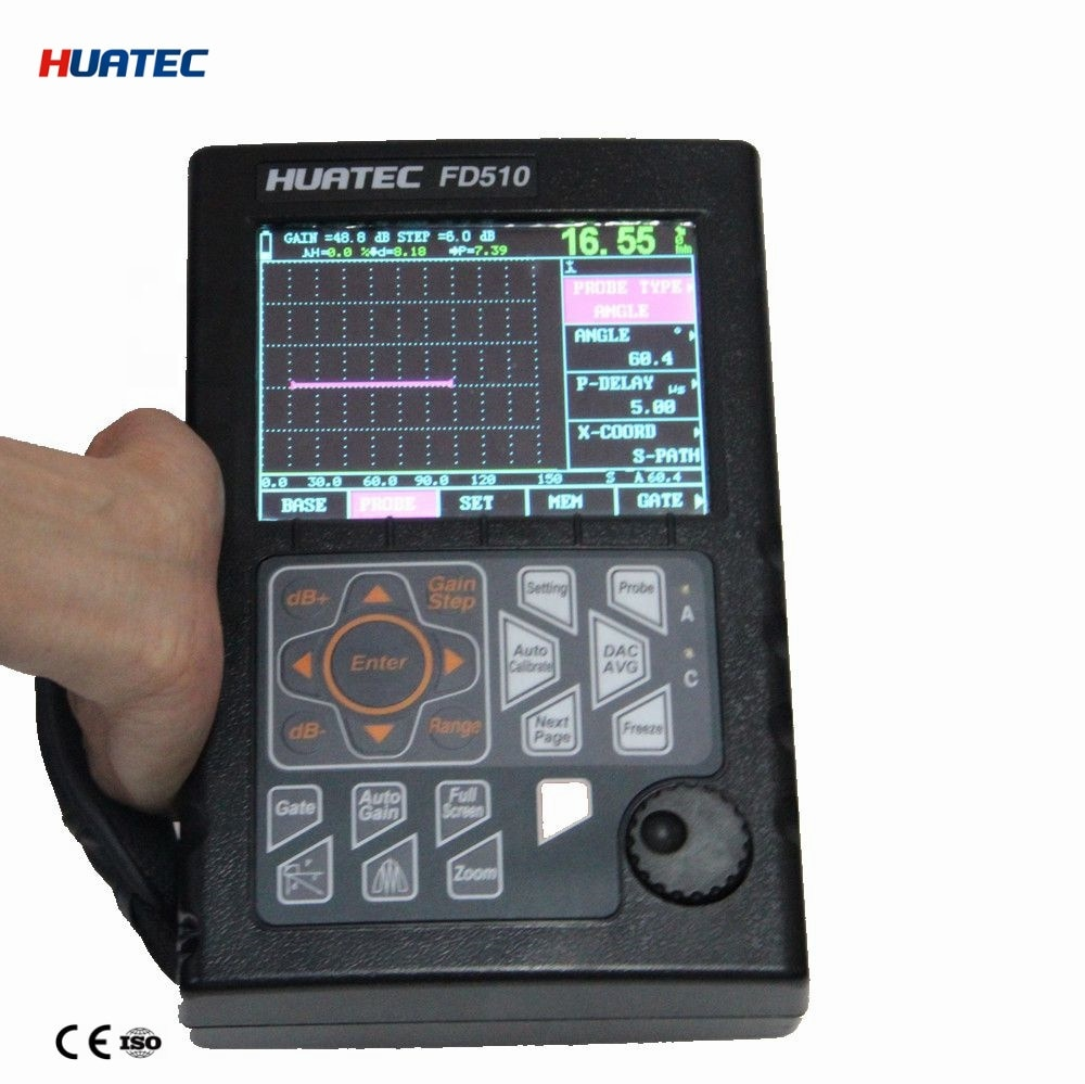 D510 Handheld Automatic Calibration Industrial Ultrasonic Flaw Detection Equipment enlarge