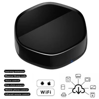 Telecommande WiFi IR  compatible avec Echo Google Home  universelle  intelligente  adaptee a divers appareils menagers intelligents