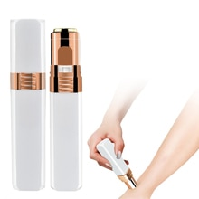 Mini Electric Body Facial Hair Remover Safety Painless Shaving Lipstick Shape Female Depilator Trimm