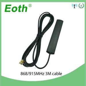 Antena de remendo de faixa colada antena sma da antena 868 mhz 915 mhz da g/m-antena masculina do conector 3 medidores cabo 868 mhz antena 915 mhz