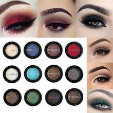 PHOERA  12 Colors Eyeshadow Long Lasting Eye Shadow Bright Big Eyes Natural Matte Waterproof Palette Makeup Kit Shimmer Glitter
