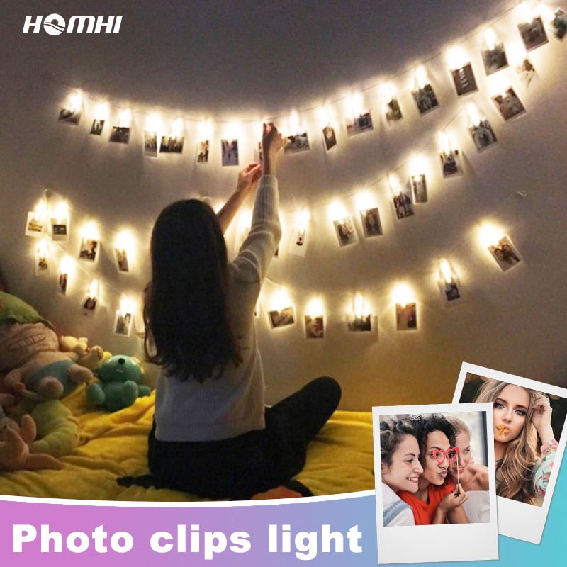 Luz Para Foto de hadas, decoración de Dormitorio, luces Led, decoración de...