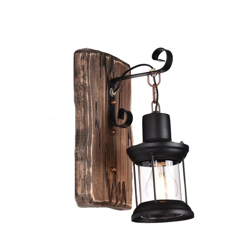 الصناعية الحنين الخشب الجدار الشمعدان شخصية مطعم بار القهوة الممر شمعة الجدار ضوء ساحة حديقة مصباح حائط