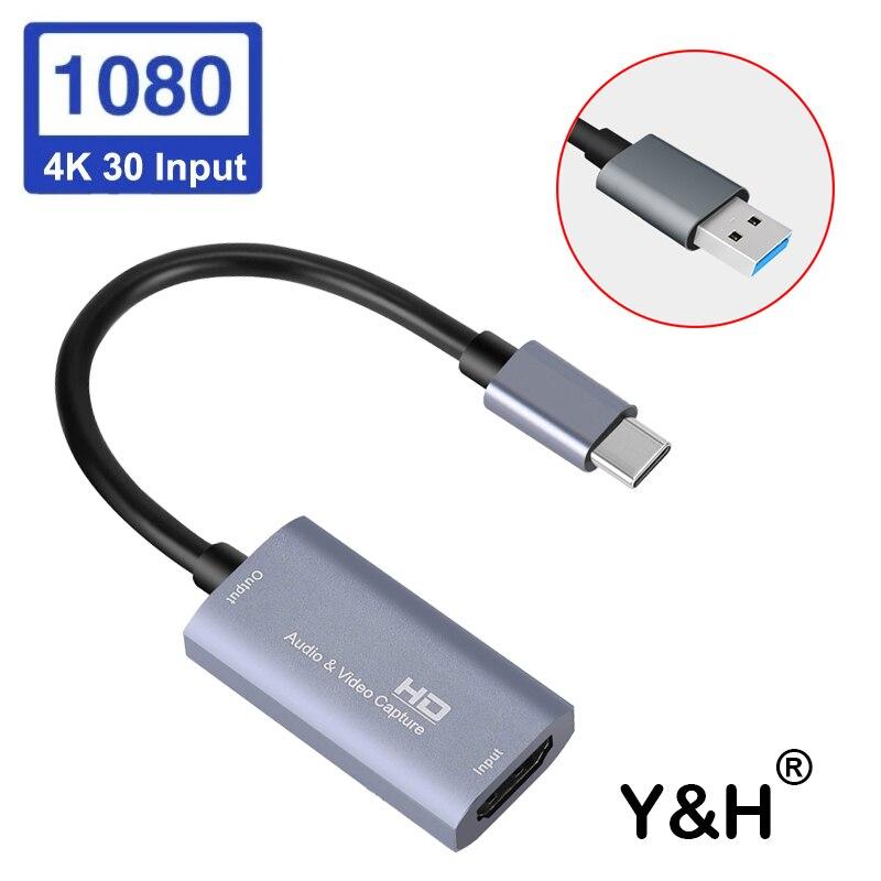 Tarjeta de captura de vídeo Y Audio & H, HDMI, compatible con...