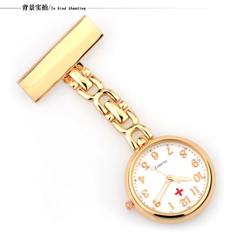 Роскошные золотистые/Серебристые медные часы из нержавеющей стали с зажимом