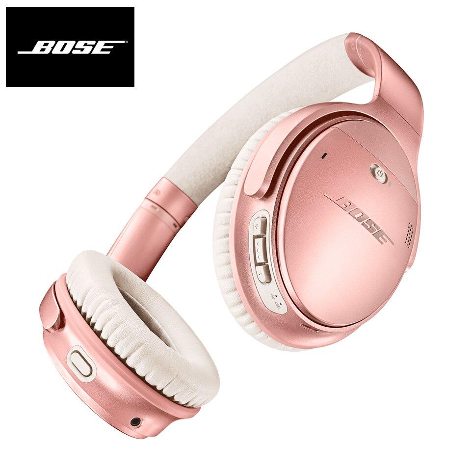 Bose QuietComfort 35 II ANC auriculares inalámbricos Bluetooth auriculares bajos Cancelación de ruido auriculares deportivos con micrófono asistente de voz