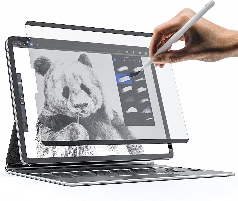 Магнитная Защитная пленка для экрана iPad Pro 11 10,9 12,9, съемная многоразовая матовая защитная пленка для письма/рисования