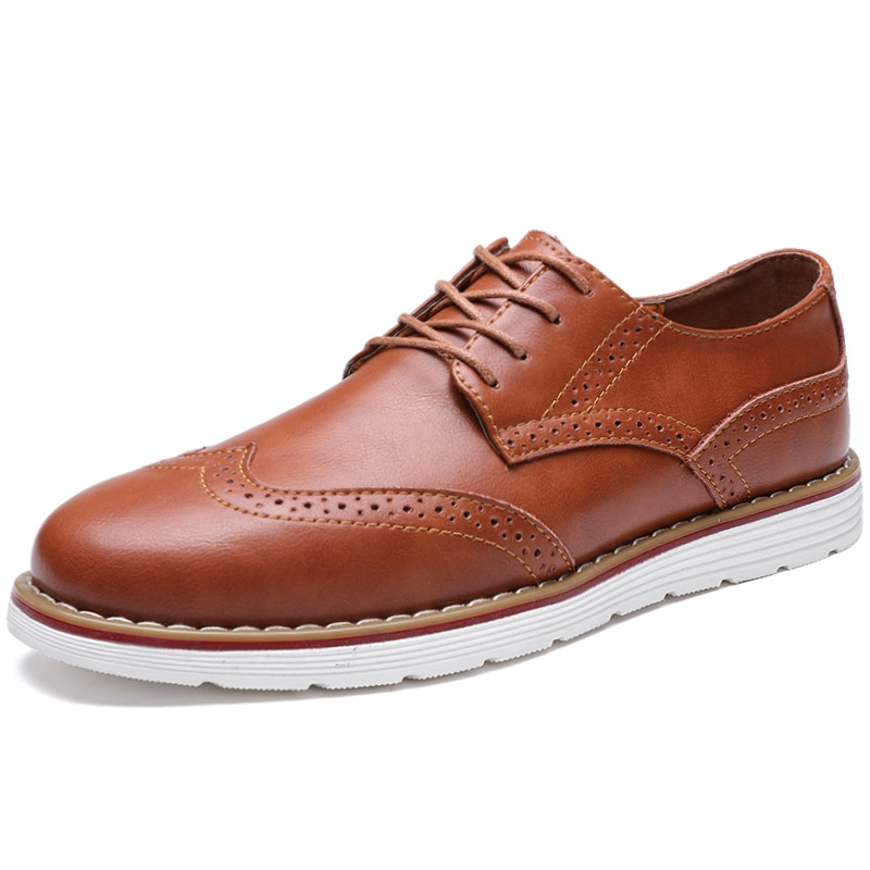 sipriks luxury brand calf leather oxfords mens square toe dress shoes italian goodyear welt european leather sole elevator shoes 2021 Men Genuine Leather Dress Shoes Brogue Lace Up Mens Casual Shoes Luxury Brand Moccasins Loafers Men Business Oxfords Shoes