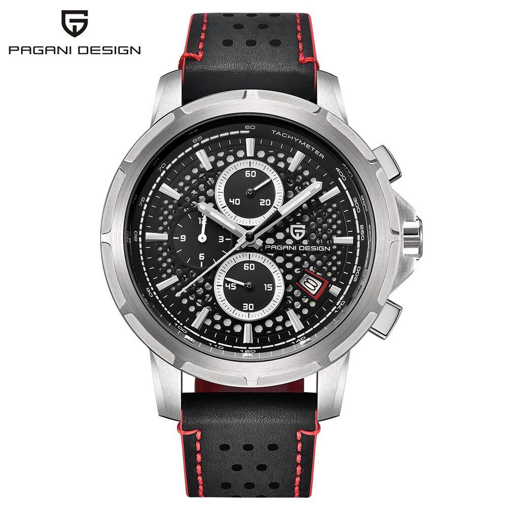 Mens Watches BENYAR Top Brand Luxury Men's Fashion Business Waterproof Quartz Watch For Men Casual Leather Watch Relogio Masculi