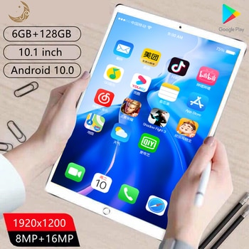 tablett 10.1 inch PAD Matepad Pro Tablet PC Network 10 Core Tablets android 6GB+128GB Wifi cheap Tablete android 10.0 Tablette
