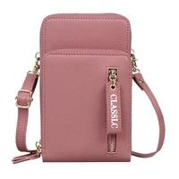 fashion cross body phone shoulder bag for women designer luxury brand handbags zipper flap sling bag for female messenger bag