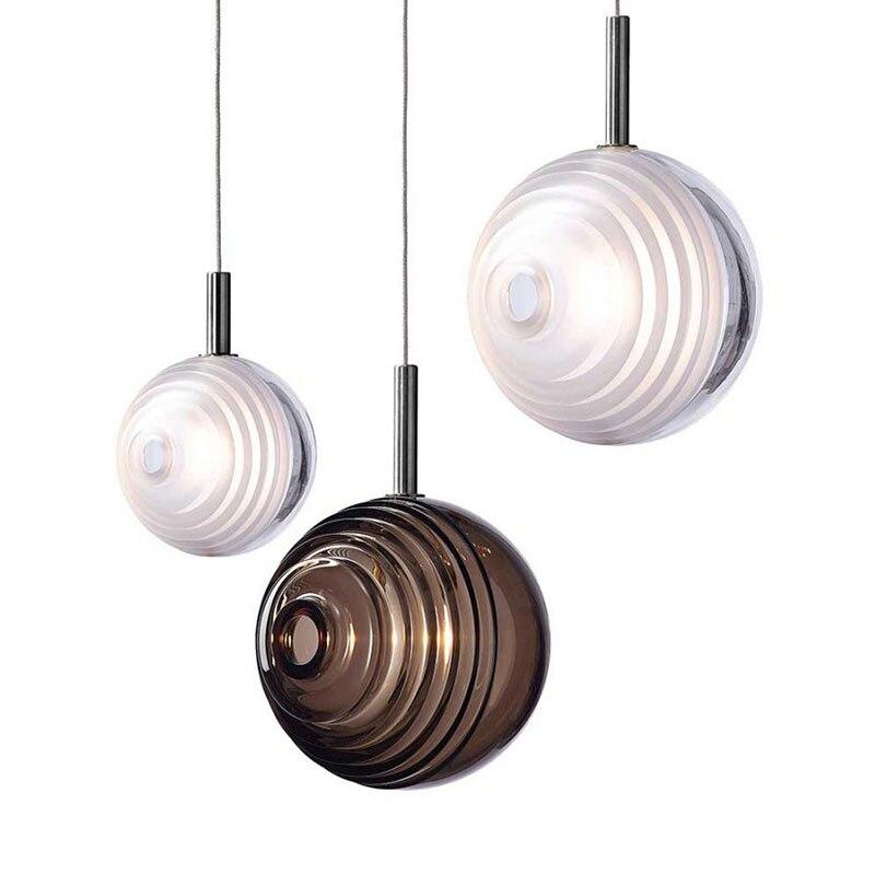 Lámpara colgante de techo con diseño nórdico, luminaria de techo moderna, de...