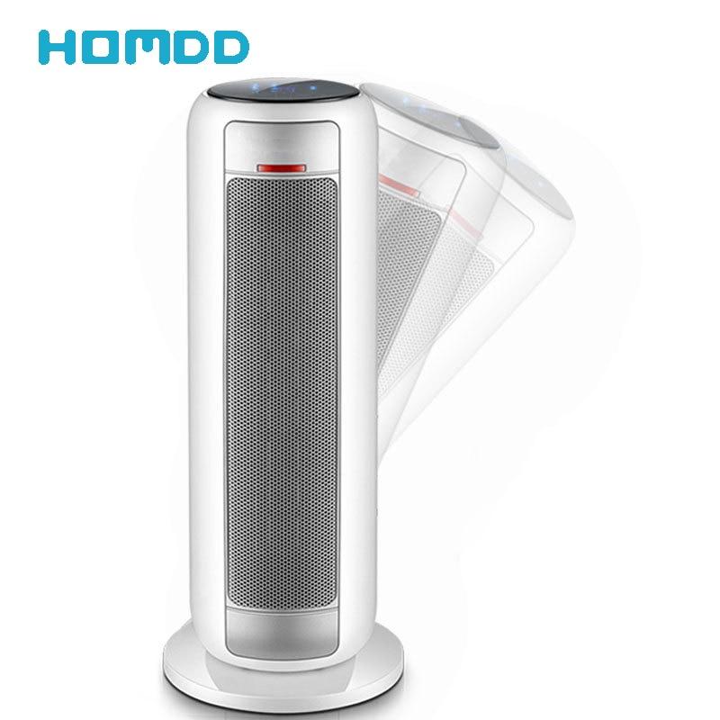 HOMDD الذكية مروحة محمولة سخان مكيف الهواء للمنزل سطح المكتب سخان كهربائي التحكم عن بعد برج مروحة التدفئة مروحة التبريد