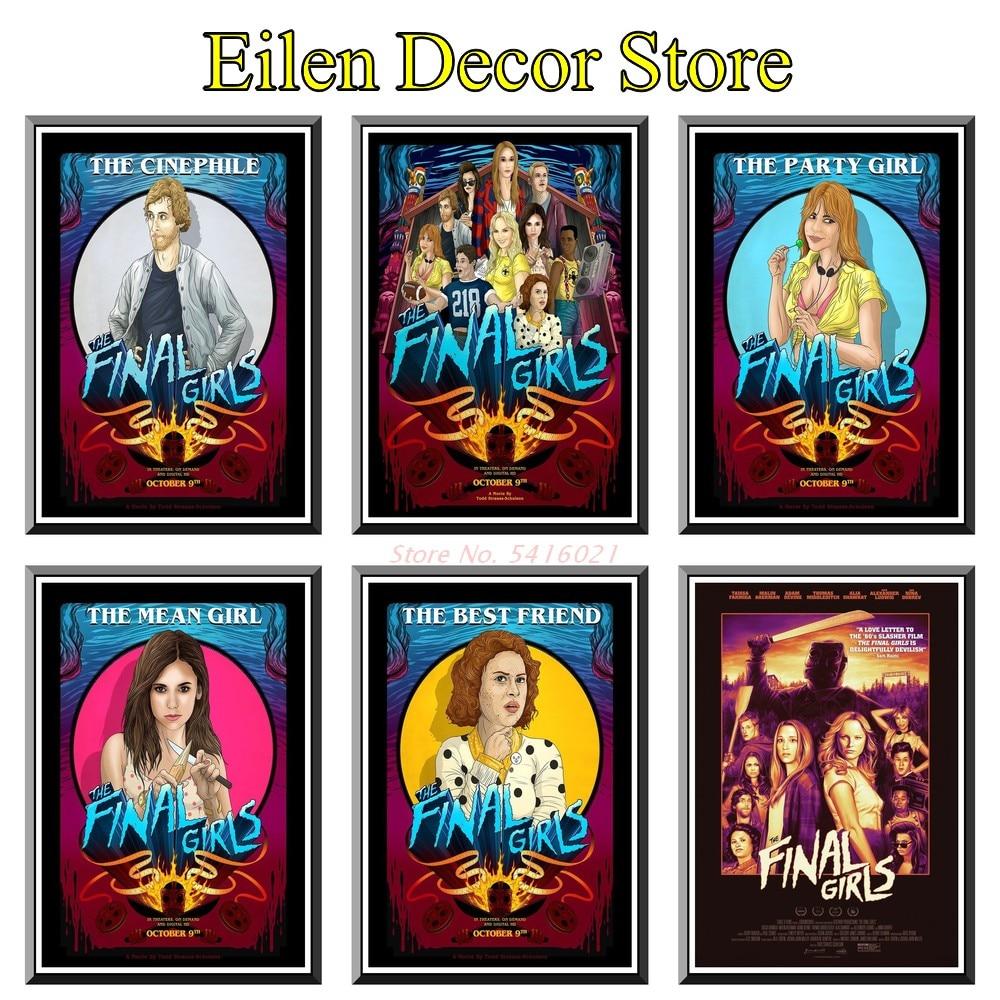 Финальный фильм для девочек, плакат, наклейка, плакаты и принты, Художественная печать, классический фильм, плакат, украшение для дома, плака...