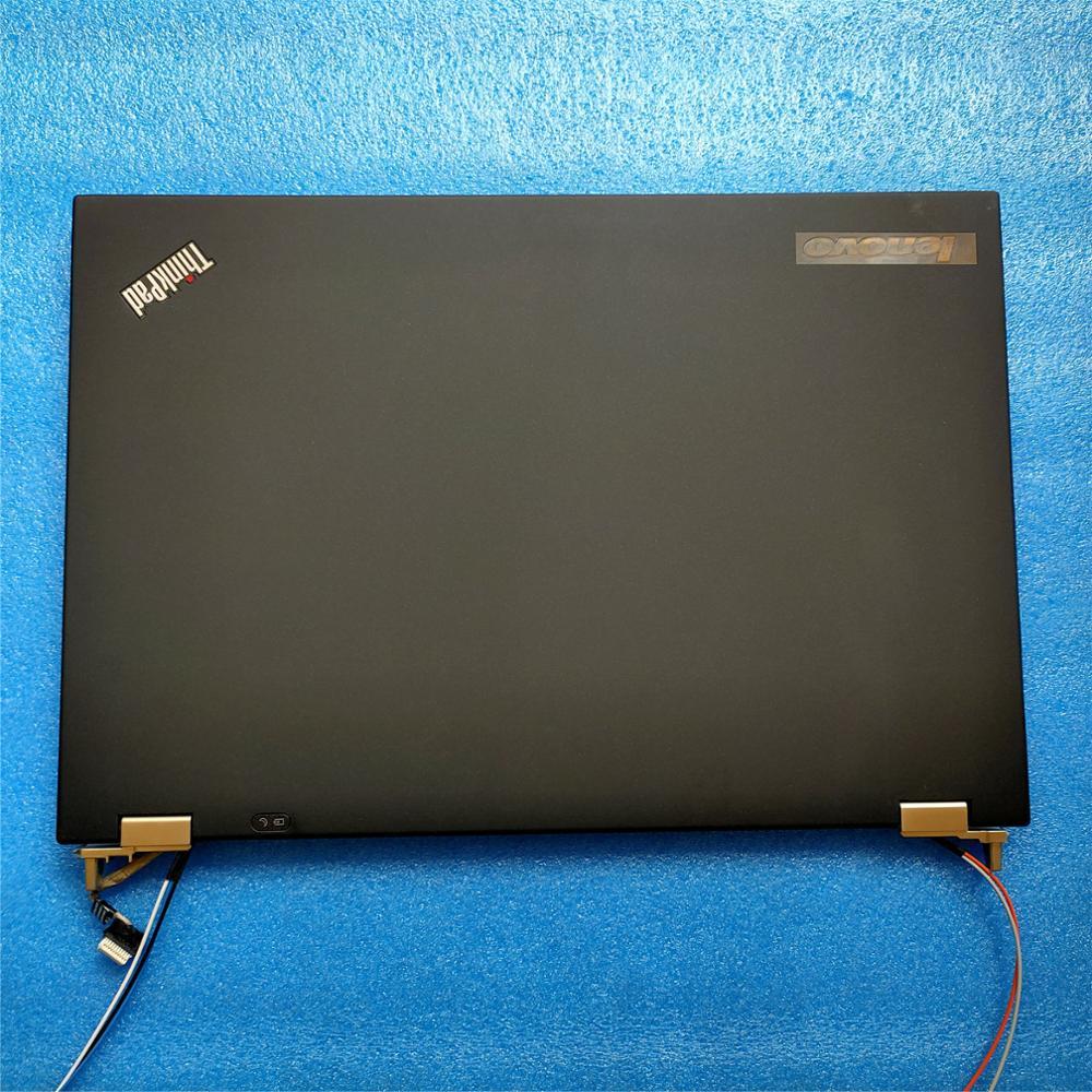 New Original Lenovo ThinkPad T430 T430i LCD Rear Cover + Hinges 04X0438 04W6861