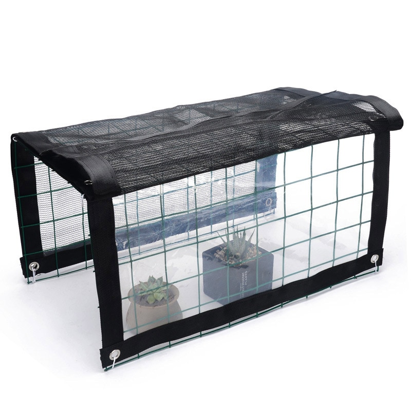 Invernadero Mini multifuncional, portátil, para exteriores, estanterías para plantas, dosel a prueba de lluvia, toldo de verano para planta de tomate, flores de hierbas