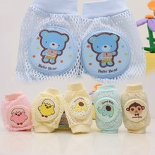 Summer Baby Knee Pad Kids Safety Crawling Elbow Cushion Infants Toddlers Baby Crawling Knee Pads Ter