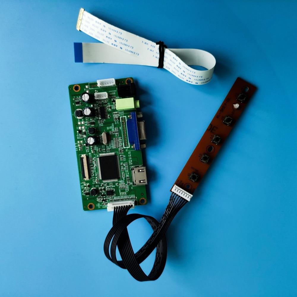 "Kit para LP156WH2-TPB1/LP156WH2-TPA1 TELA EDP painel DRIVER de vídeo LCD LED HDMI VGA Controlador board 15.6 ""30pin 1366X768"