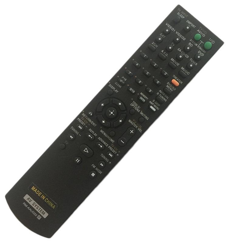Remote Control For SONY RM-AAU006 RM-AAU017 RM-AAU027 STR-K1600 STR-K740P RM-PP65 RM-PP413 HT-SF2000 STR-KM7500 STR-DH800 недорого