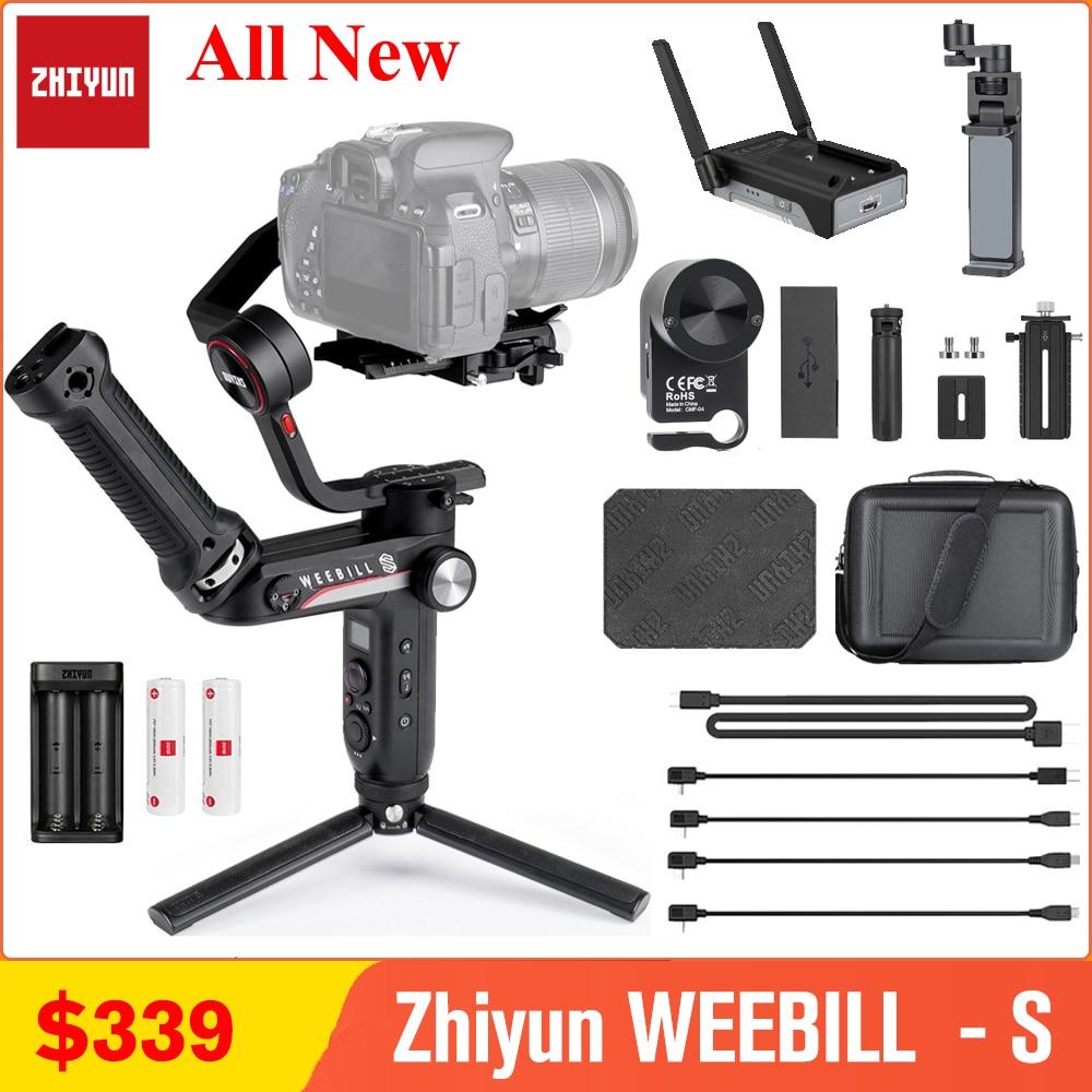Zhiyun weebell S weebell LAB 3-Axis مثبت انحراف ل Mirrorless و DSLR كاميرا سوني A7 III A6000 نيكون باناسونيك GH5 كانون