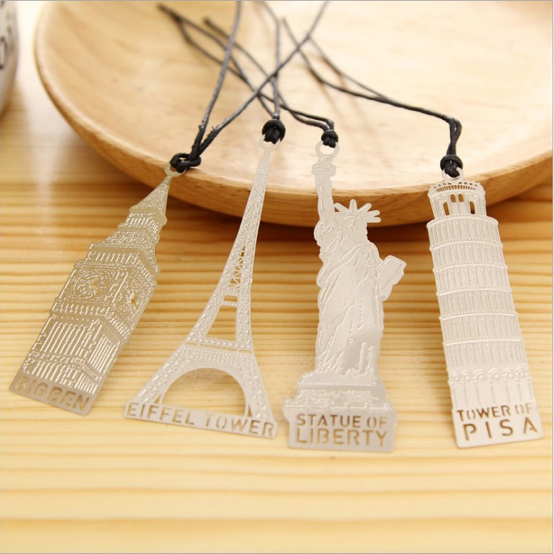 Ancient building Metal Bookmark Chinese Style Vintage Creative Leaf Vein Hollow Maple Leaf Fringed Apricot Leaf Bookmark Gifts chinese style metal hollow bookmark lotus lotus leaf bookmark creative stationery fine holiday gifts art accessories