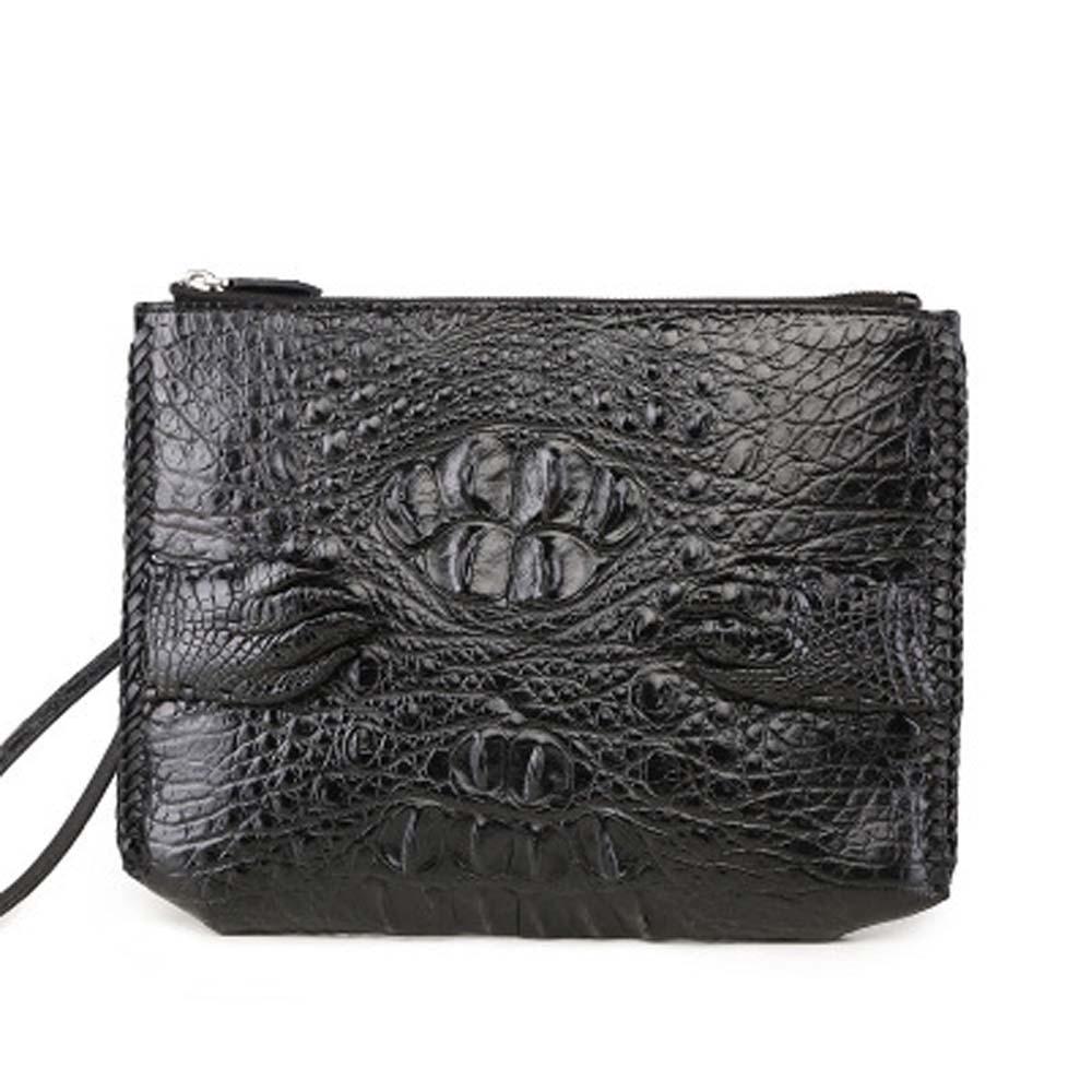 xingmengda new crocodile bag  male clutch bag new men envelope bag  business  leisure  Men bags  Hand caught men crocodile bag