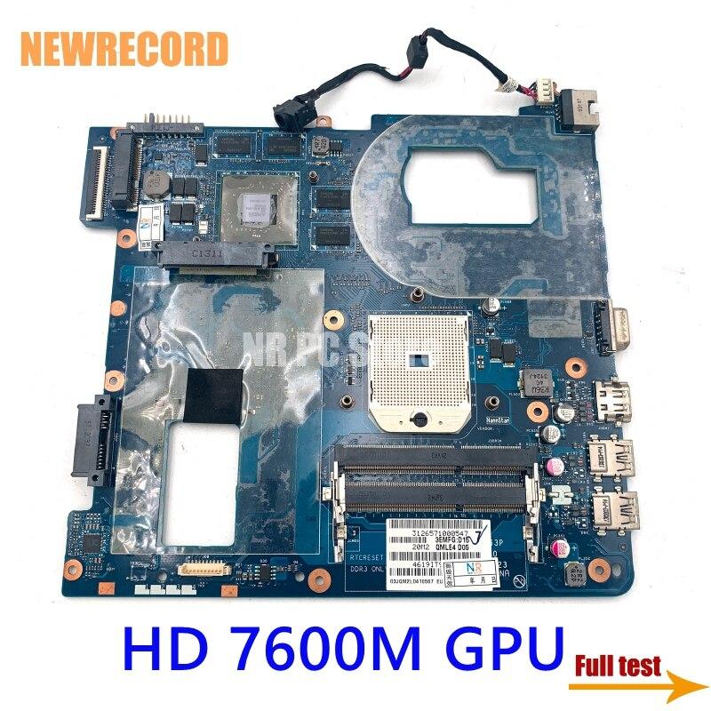NEWRECORD LA-8863P QMLE4 BA59-03567A BA59-03567B لسامسونج NP355 NP355C4C NP355V5C اللوحة المحمول المقبس fs1 HD 7600M GPU