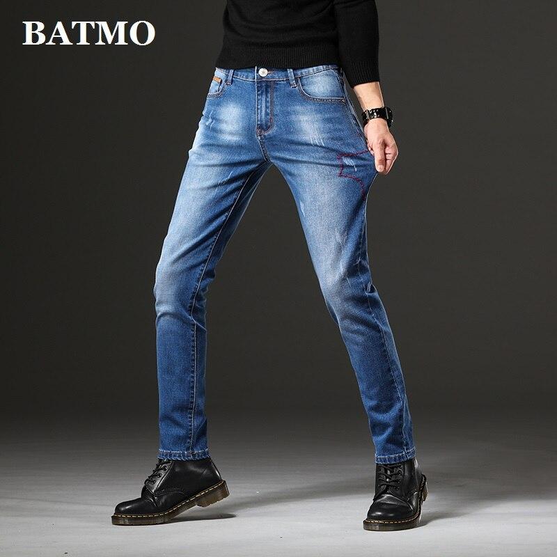 BATMO 2021 جديد وصول ربيع جينز ضيق ، كلاسيكا جينز ، سروال شكل قلم رصاص ، S3250