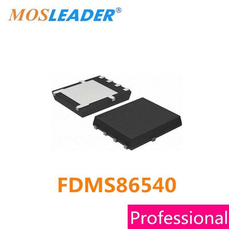 Mosleader FDMS86540 DFN5X6 QFN 100 قطعة 86540 مصنوعة في الصين عالية الجودة