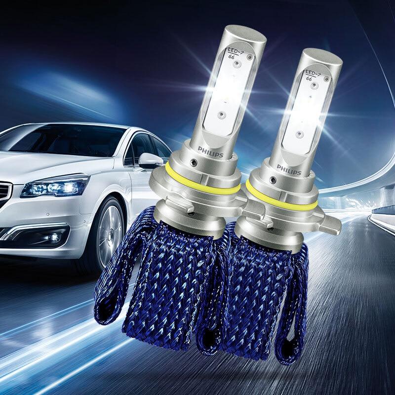 2X Philips Ultinon Essential LED Kit 6000K 12V H1R2 9012 Headlight Fog Lamps Bright LED Car Genuine Bulbs Original 11012UEX2