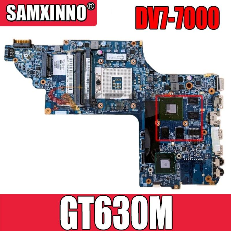 11253-2 48.4ST10.031 ل HP DV7T DV7-7000 اللوحة المحمول 681999-001 682000-001 682037-001 W/ HM77 DDR3 GT630M 100% اختبار كامل