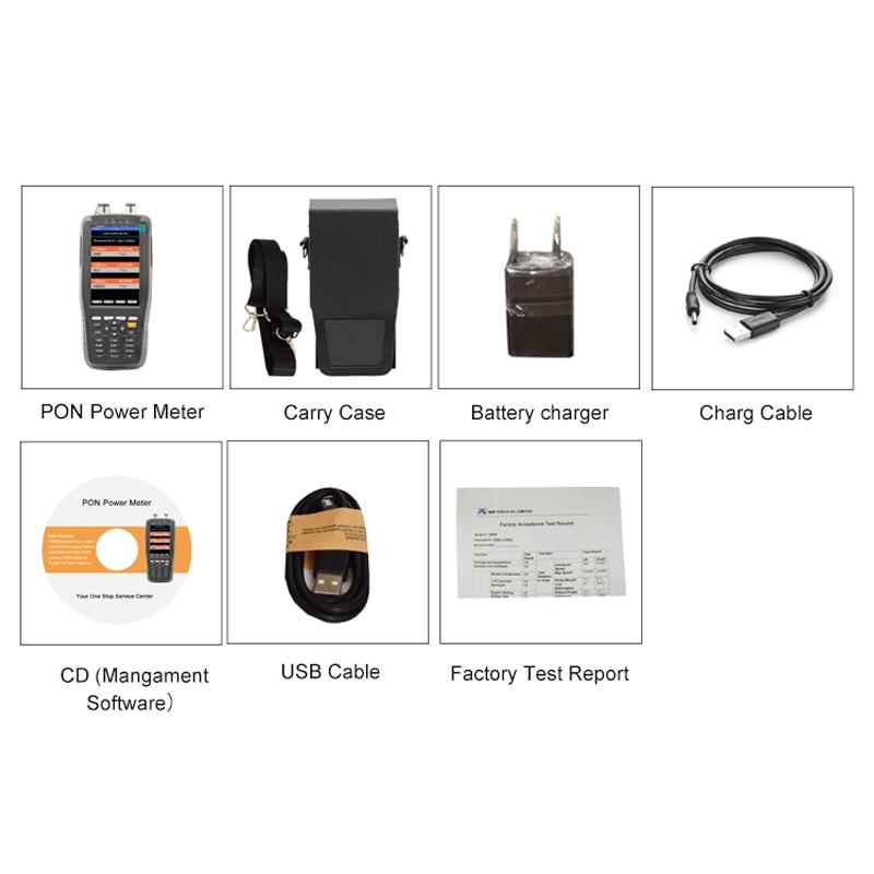 Handheld xdsl tester TM70B pon power meter 1310/1490/1550nm Wavelengths for EPON GPON xPON OLT-ONU kit ftth fiber optic tool kit enlarge