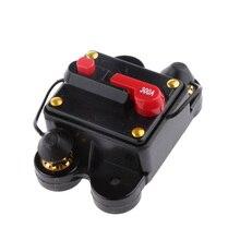 Disjoncteur en ligne avec commutateurs à réinitialisation manuelle   Chargeur de batterie pour voitures 12V/24V cc 300A