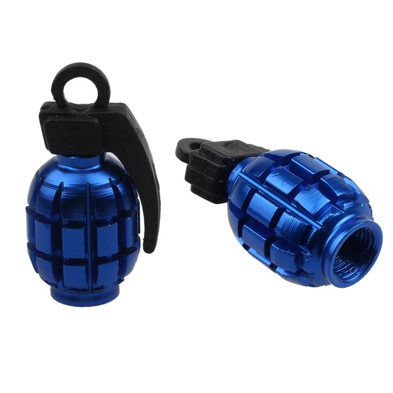 Tapas de válvula de aleación para bicicleta, cubiertas antipolvo para bicicletas de...