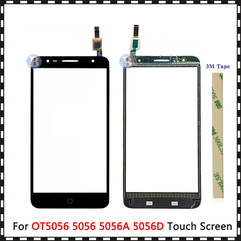 "Ersatz 5.5 ""Für Alcatel One Touch Pop 4 plus OT5056 5056 5056A 5056D Touchscreen Digitizer Sensor Äußere Glas objektiv Panel"