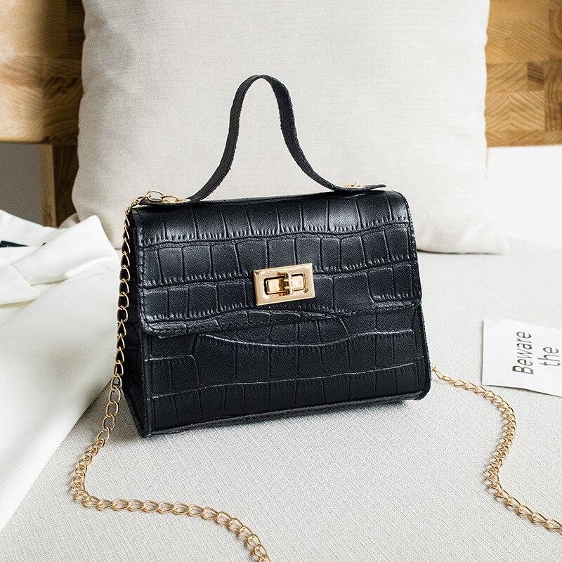 Bolso de mujer DOLOVE, bandolera de platino con cierre de varios colores y diseño de cocodrilo, nuevo producto, bandolera, Bolso pequeño para teléfono