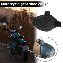 Universal Motorrad Schuhe Schutz TPU Gummi Nicht-slip Getriebe Shifter Schuhe Boot Protector Umschalt Sock Stiefel Abdeckung Shifter Wachen