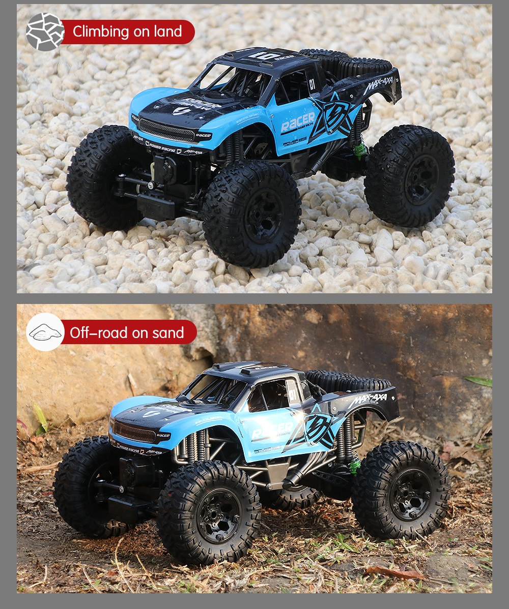 JJRC Q96 Amphibious Rc Car 1:10 Scale 4Wd Remote Control Racing Car Off Road All Terrain Buggy Waterproof Truck Toy for Boy Kids enlarge