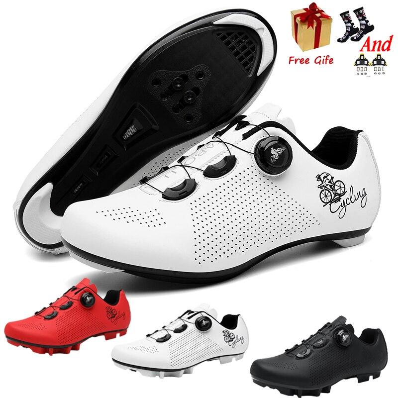 Bicycle Shoes MTB Cycling Shoes Men Self-Locking Road Bike Shoes sapatilha ciclismo Women Cycling Sneakers zapatillas ciclismo