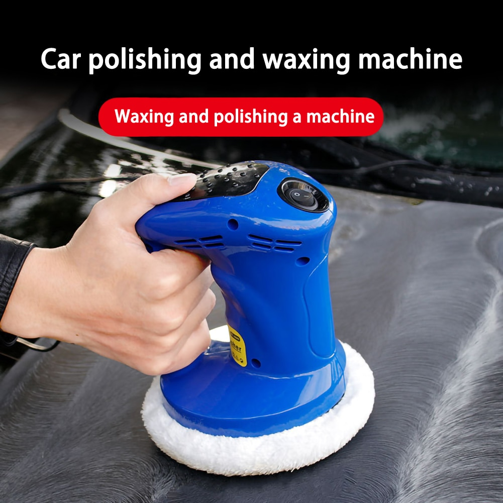 car accessories 12V 80W Car Gloss for Car Paint Vehienlar Electric Car Polisher Buffer car Waxing Machine Polishing Machine