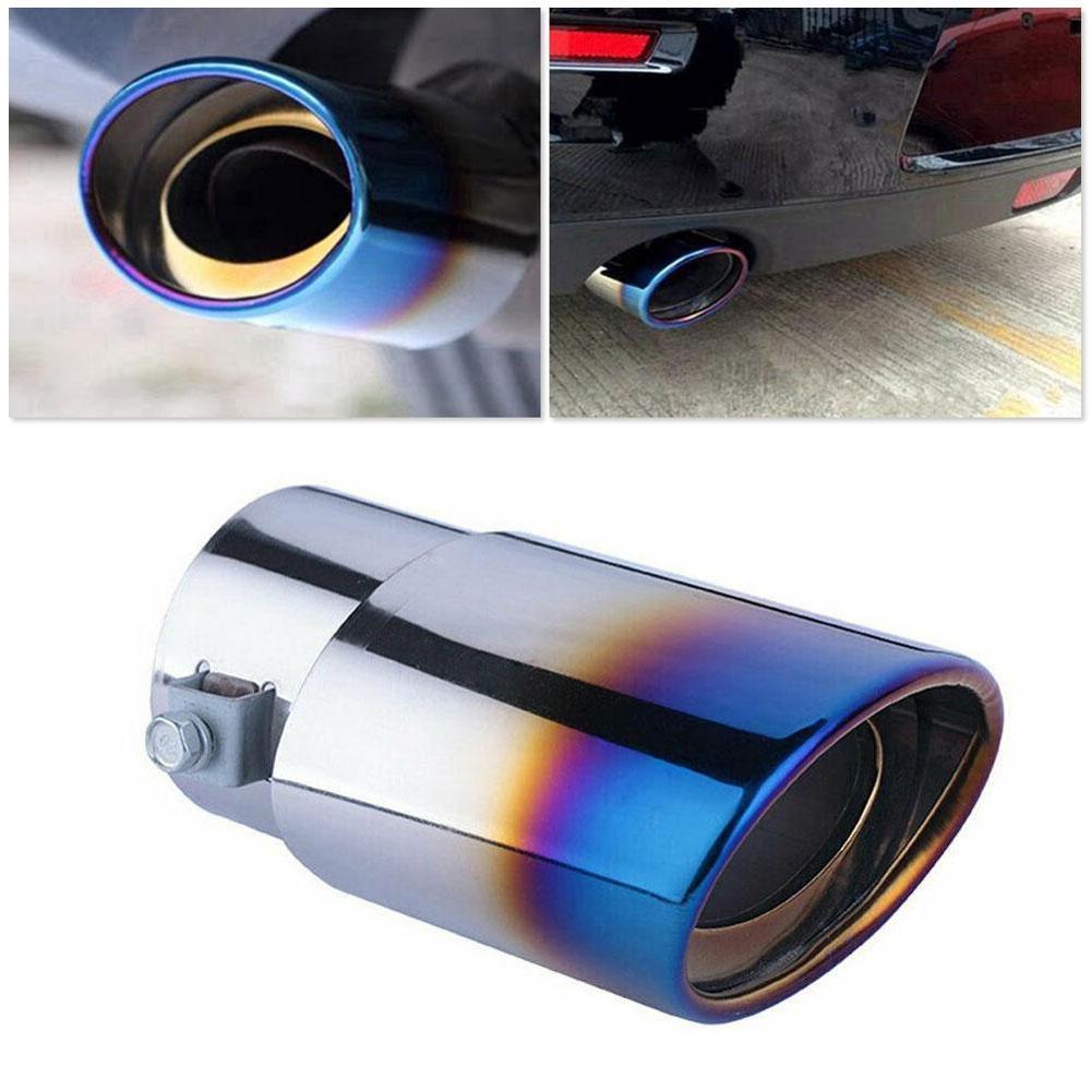 Coude universel dacier inoxydable de pointe de silencieux déchappement de voiture/tuyau droit tuyau modifié de revêtement de gorge de queue de voiture