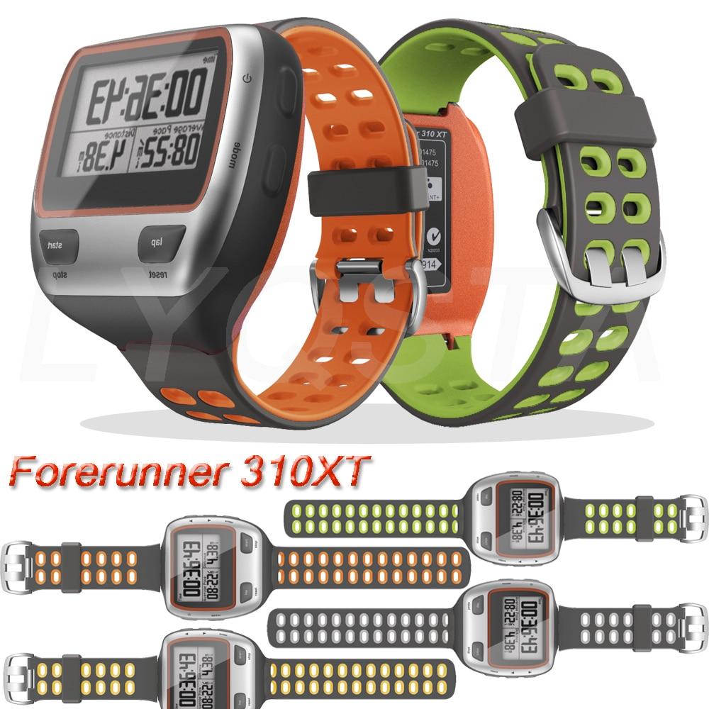Watchband For Garmin Forerunner 310XT Fashion Sport Silicone Smart Watch for Forerunner 310 XT Wrist
