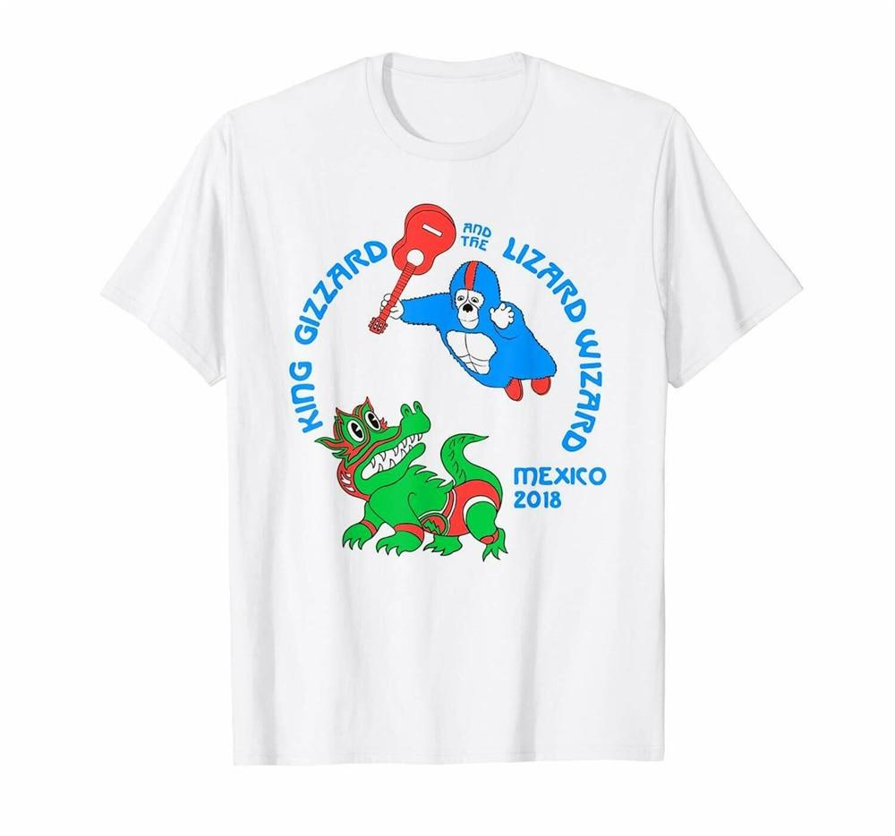 King Gizzard & The Lizard Wizard camiseta blanca de pesca para Fishies para aficionados al aire libre desgaste camiseta