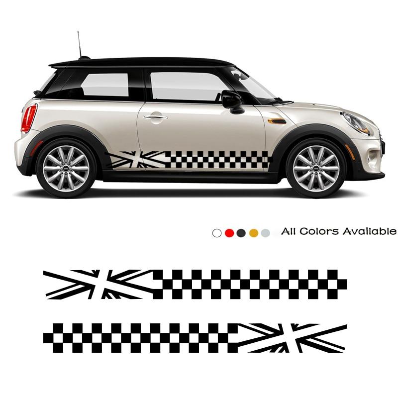 Pegatina lateral para puerta de coche, calcomanías de modificación Exterior, accesorios para...