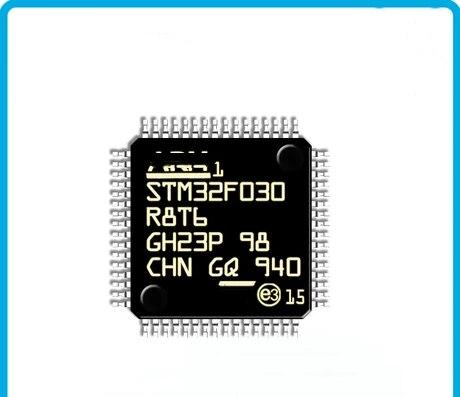 10 قطعة جديد STM32F030R8T6 QFP-64 الذراع 32-وحدة تحكم مصغرة بالبت
