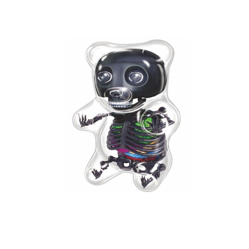 4D MASTER Authentic Artist Mighty Jaxx Can be assembled with black gummy bears