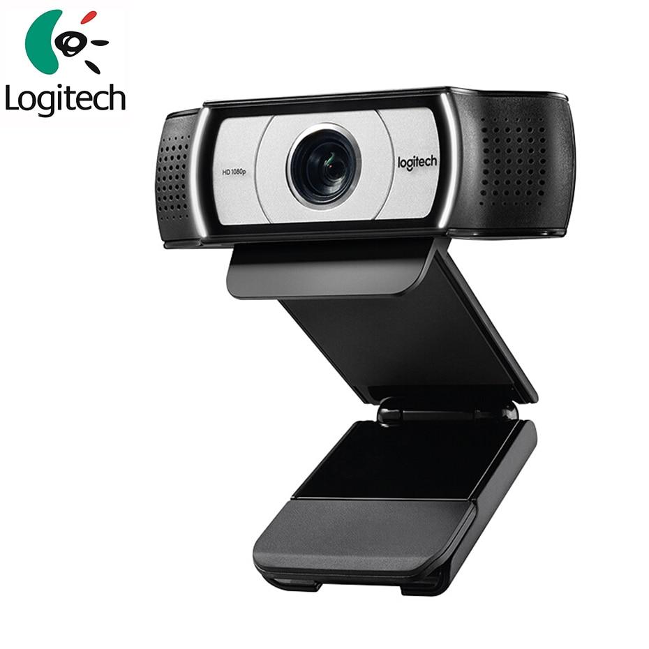 كاميرا ويب للأعمال من Logitech طراز C930c بدقة 1080 بكسل مزودة بشبكة USB ذكية للتدريس فيديو أصلي جديد