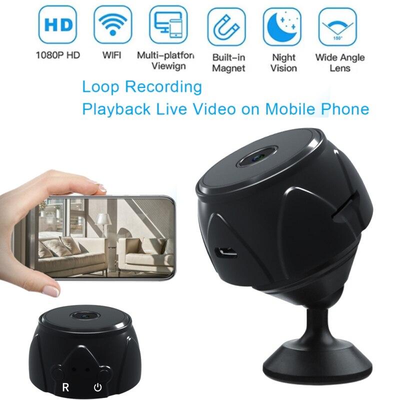 A9 Mini Camera WiFi IP Camera 1080P HD Wireless Remote Monitor Home Security IR Night Wireless Mini
