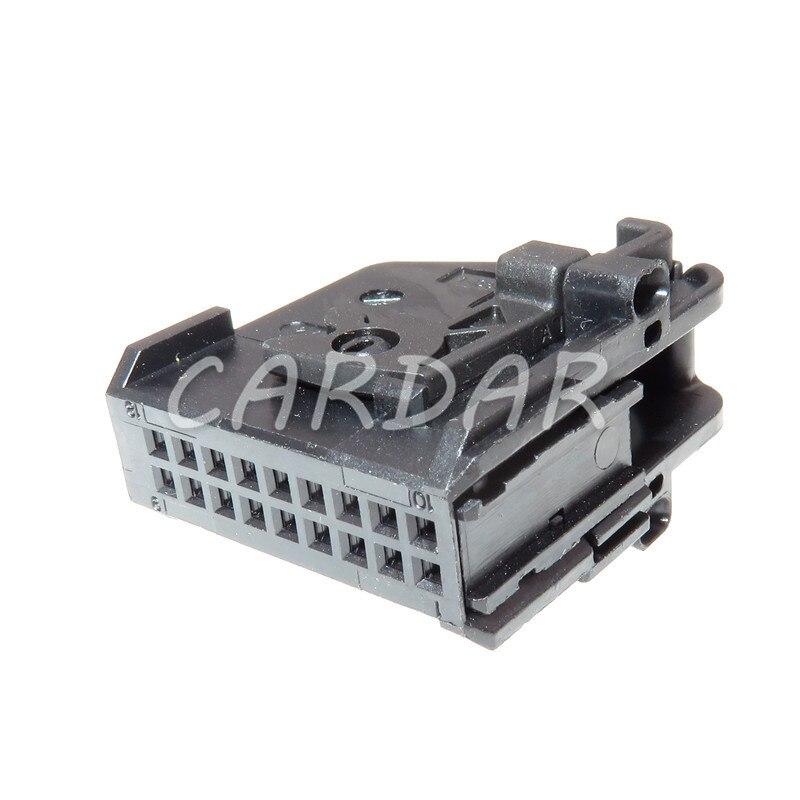 Автомобильная панель кондиционера, 18 контактов, 1-1355350-1 1-1355349-1, разъем автомобильного усилителя для VW BMW
